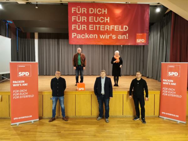 Mitgliederversammlung der Eiterfelder SPD nach der Wahl